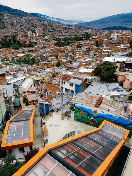 Escalators at Comuna 13 San Javier