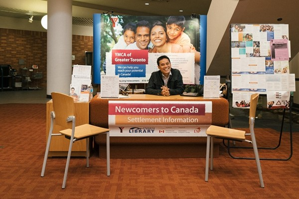 Welcoming newcomers to the city at Toronto Public Library