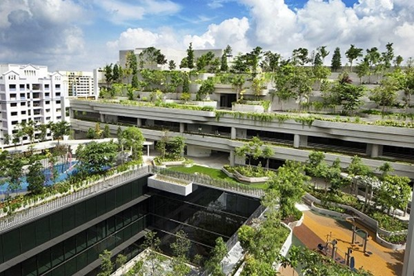 Kampung Admiralty by WOHA Architects