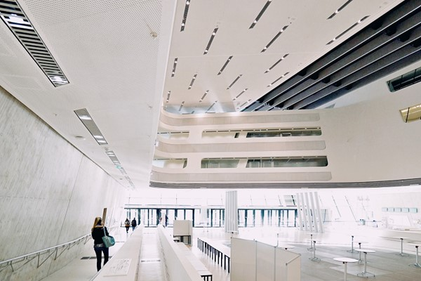 Library & Learning Centre designed by Zaha Hadid Architects