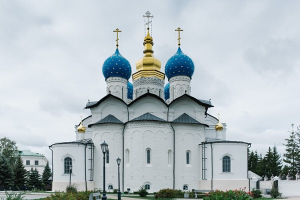 The Annunciation Cathedral in the Kazan Kremlin