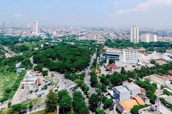 Surabaya today is a clean and green city