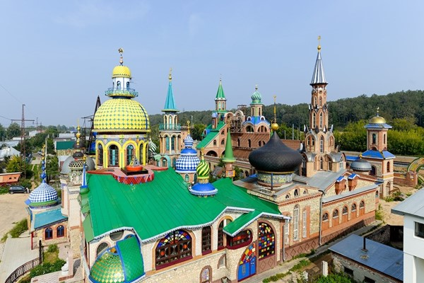 The Temple of All Religions – a tourist attraction and a symbol of religious harmony in Kazan