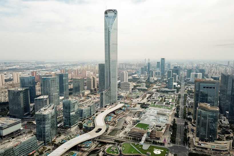 The new Suzhou International Financial Square