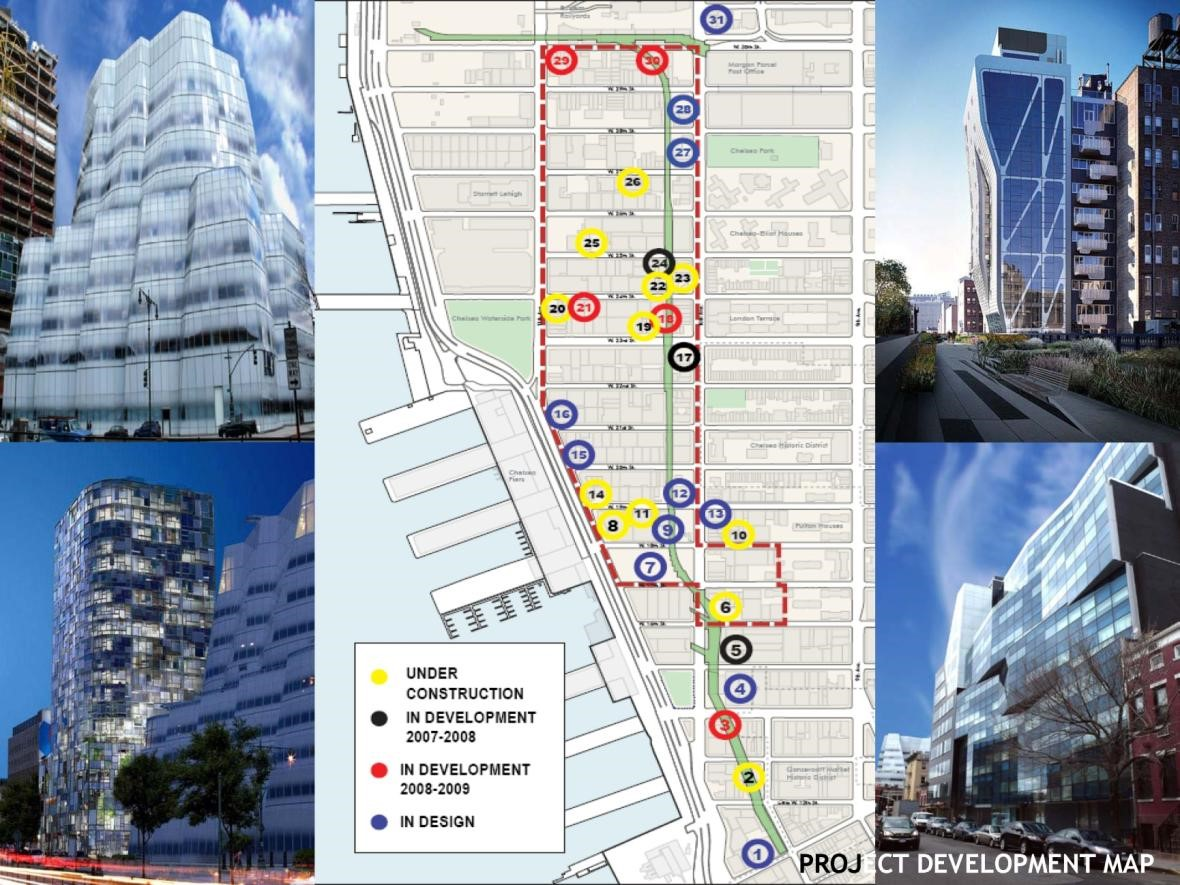 The West Chelsea/High Line Plan
