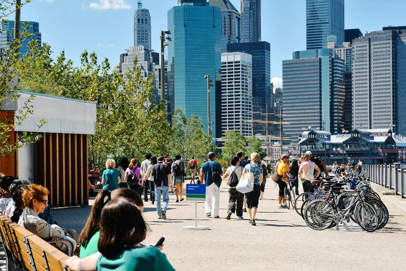Brooklyn Bridge Park after revitalisation
