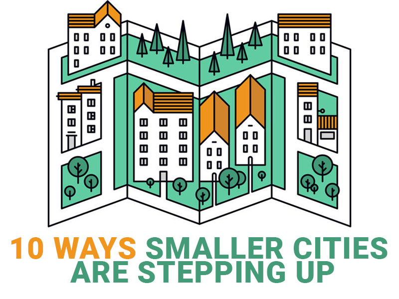 How smaller cities are stepping up